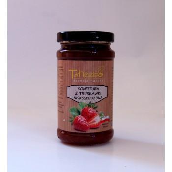 Konfitura z truskawki niskosłodzona 250g