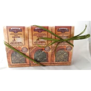 Zestaw upominkowy 3 herbatki rekomendowane Taheebo esencja natury