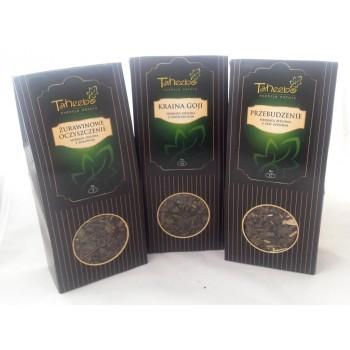 TH Zestaw herbat zielonych z dodatkami