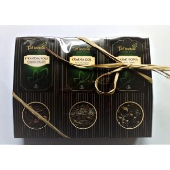 TH Zestaw Herbat 13 Pikantna Róża / Kraina goji / Jaśminowa