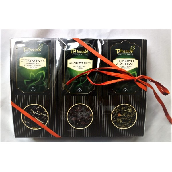 TH Zestaw Herbat 11 Cytrynówka / Wiśniowa nuta / Truskawki w śmietanie