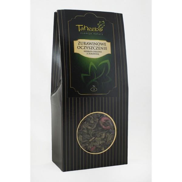 Herbata ŻURAWINOWE OCZYSZCZENIE 75g