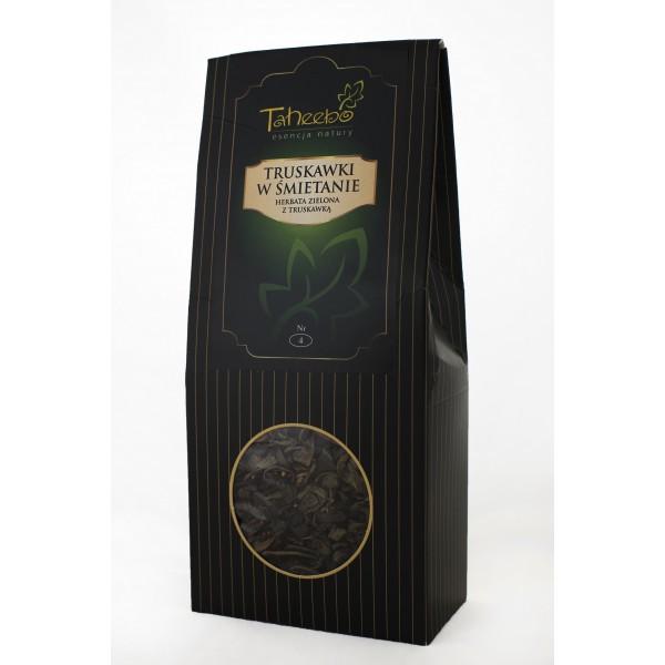 Herbata TRUSKAWKI W ŚMIETANIE