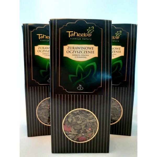TH Zestaw herbat ŻURAWINOWE OCZYSZCZENIE