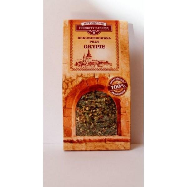Herbatka z duszą Rekomendowana przy grypie 30g